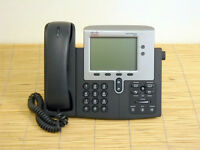 Cisco CP-7941G 7941 VoIP IP Telefon Phone SIP Version