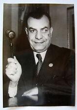 PHOTO PRESSE KEYSTONE HAFEZ AFAFI PACHA PRÉSIDENT CONSEIL SÉCURITÉ ONU NEW YORK
