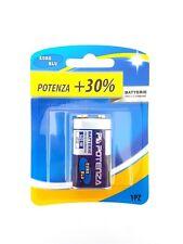 Confezione 1 Pila Batteria Euro Blu Zinco Carbone 9V 6F22 moc