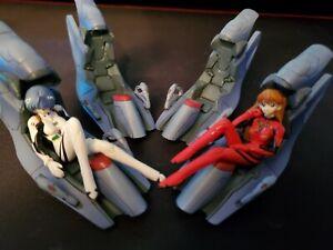 Gainax/Project Eva Rei G/ET 2 Inch Lot Anime Figure Lot