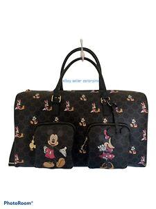 Brand New Disney Mickey & Minnie Luggage Holdall Bag Primark