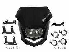 Scheinwerfer Maske Polisport Halo schwarz für Aprilia Honda Suzuki KTM Husqvarna