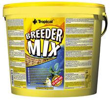 5000 ml Tropical Breeder Mix Flockenfutter Fischfutter Zierfische Zucht 3,90€/L