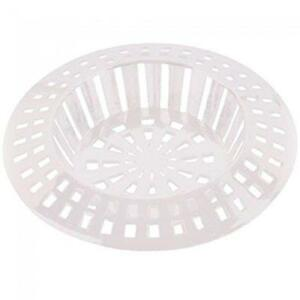 KITCHEN SINK OR BATH STRAINER IN WHITE OR CHROME COLOUR