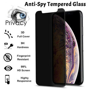 ANTI SPY TEMPERED GLASS Privacy Screen Protection Shield For iPHONE 11, 12 Pro