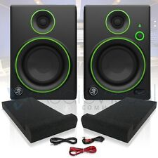 "Mackie CR4 Active 4"" Professional Multimedia STUDIO MONITOR COPPIA DIFFUSORI"