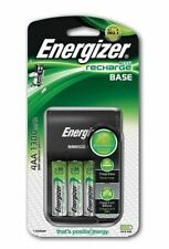 Energizer Base AA /AAA Charger + 4 AA 1300 mAh Rechargeable Batteries