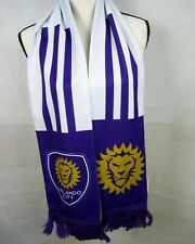 Orlando City Soccer Club Adidas Scarf Defy Expectations Purple New with Tags