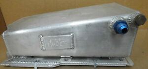 """Hamburger 14 Bolt Buick V6 Oil Pan, 4qt Cap., Alum, 6"""" Deep, Screening, Scraper"""
