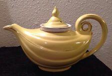 Aladdin Hall Tea / Coffee Pot Yellow W/ Infuser 0679R Usa Elegant