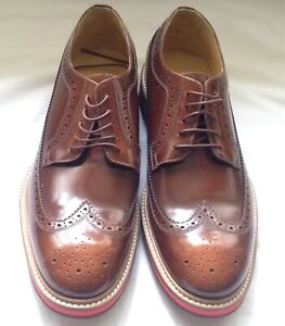 Paul Smith Shoes Chase Tan Brogues.RRP 395.