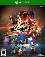 XBOX ONE XB1 VIDEO GAME SONIC FORCES BRAND NEW AND FACTORY SEALED