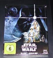 Star Wars Uno Nuovo Speranza Doppio blu ray Limitata steelbook Nuovo & Originale