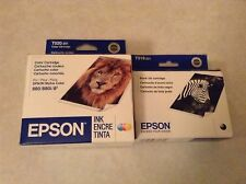 Genuine Epson T019 & T020  Black & Color Ink Stylus Photo 880,880i etc... Save!