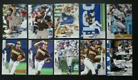 2020 Topps Series 2 San Diego Padres Base Team Set of 10 Baseball Cards