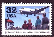 AT FACE! #3211 BERLIN AIRLIFT. LOT OF (50)  MINT SINGLES F-VF NEVER HINGED!