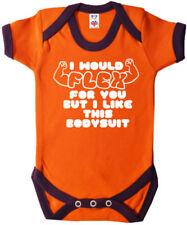Peleles y bodies naranjas de 100% algodón para niños de 0 a 24 meses