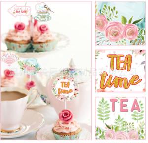 24Pcs 2020 Graduation Cupcake Afternoon Tea Party Picks Topper Supplies Decor UK