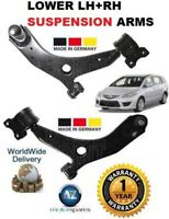 FOR MAZDA 5 1.8 2.0 2005-2010 2 x LOWER LEFT & RIGHT WISHBONE SUSPENSION ARM SET