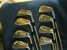 Ram Aries forged Muscle back Forged blade irons Regular steel shafts Tom Watson