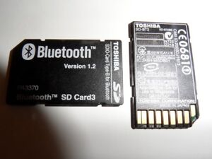 Toshiba Bluetooth SD Card3 PA3370U-1BTM Version 1.2 - only for Toshiba Pocket PC