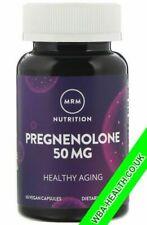 Pregnenolone, 50 mg, 60 Vegan Capsules - New packaging MRM