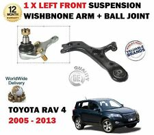 FOR TOYOTA RAV 4 2006-> FRONT LEFT SIDE SUSPENSION WISHBONE ARM + BALL JOINT KIT