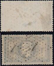 TIMBRE FRANCE   N°  33   Louis-Napoleon 5F,  oblitéré par deux étoiles.