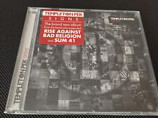 TEMPLETON PEK - Signs CD (2013) Rise Against Bad Religion Sum 41 Ignite