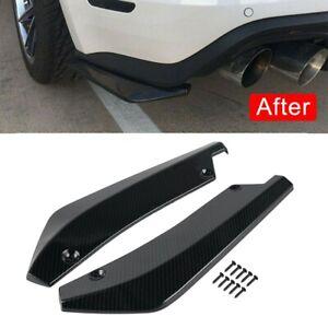 Universal Rear Bumper Lip Diffuser Splitter Canard Protector Car Accessories Kit