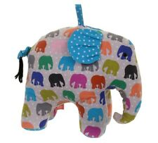 Elephant Herd Spotty Shaped Door Stop - Ulster Weavers