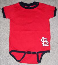 St Louis Cardinals Red 1 Piece- Size 12 Months