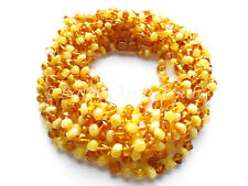 Amber Wholesale, Lot of 10 Honey And Mat Color Baltic Amber Baby Necklaces