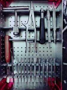Broken Screw Removal Instrument Set Of Orthopedic & Spine Insturments