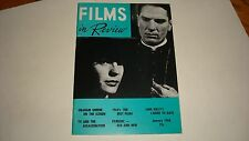 Films in Review January 1964 Tom Tryon Photo Cover Gene Kelly, 1963's 10 Best VF