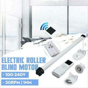 Electric Curtain Set Remote Control Electric Roller Shade Motor Blind Tubular