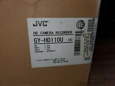 JVC GY-HD110 Camcorder fujinon , Anton Bauer cradle , 8 batteries  and charger