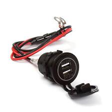 12V Dual USB Auto Einbau Steckdose Zigarettenanzünder Splitter Adapter Ladegerät