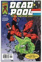 Deadpool 42 1st Series Marvel 2000 NM GI Joe 21 Homage Jim Calafiore