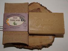 Olivellenic Greek Pure Olive Oil Soap Cedar 90gr