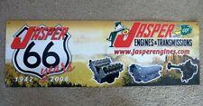 Jasper Engines & Transmissions Metal Sign 30 X 10 Car Truck Home Decor Man Cave