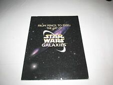From Pencil to Pixel: The Art of Star Wars Galaxies - FREE SHIPPING