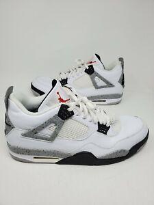 """Nike Air Jordan 4 Retro OG """"White Cement"""" 2016 Size 17 840606 192"""