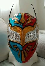 SIN CARA LYCRA MASK AAA ADULT LUCHA LIBRE MEXICANA WRESTLING MASK FREE SHIPPING