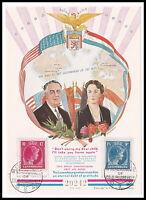 1945 Luxemburg Grossherzogin Charlotte Spendenblock