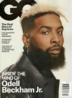 GQ GENTLEMEN'S QUARTERLY AUGUST 2019 ODELL BECKHAM JR. INSIDE HIS MIND