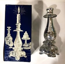 New Vintage Avon Candlestick Cologne Roses Roses Scent Full 5 Fl Oz Collectable