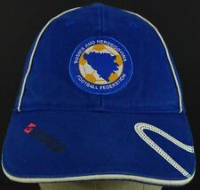 Blue Bosnia and Herzegovina Football  embroidered baseball hat cap adjustable