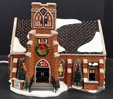 Dept 56 New Hope Church 54904 Lighted Building in box Retired Original Village