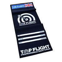 TOP FLIGHT DARTS MAT THROWING MAT OCHE DISTANCE SOFT CARPET TYPE PROTECTS FLOOR